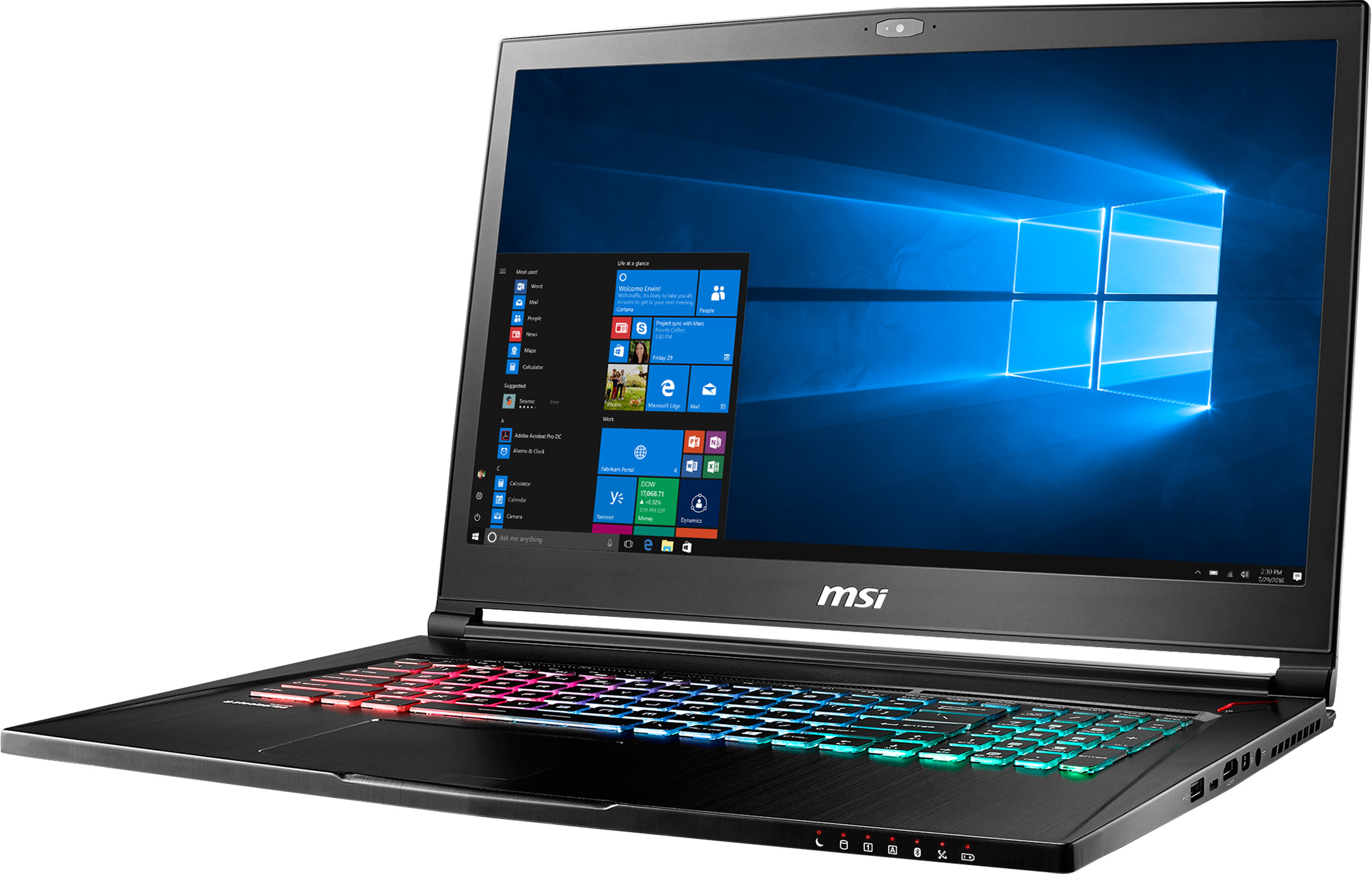 MSI GS73VR 6RF Stealth Pro-052US Signature Edition Gaming Laptop Deal