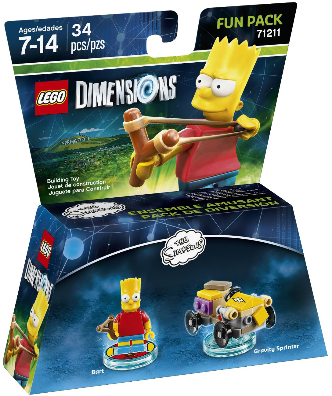 LEGO Dimensions The Simpsons: Bart Fun Pack