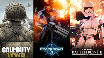Images for Call of Duty WWII, Crackdown 3 and Starwars Battlefront 2