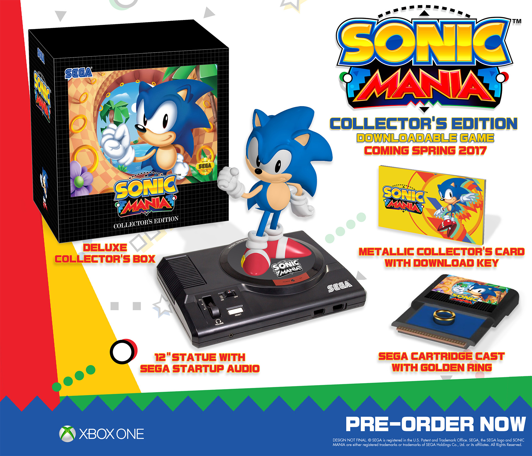 Sonic Mania Collector's Edition for Xbox One Deal