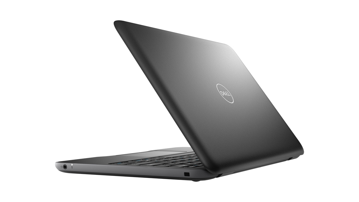 Right rear view of Dell Latitude 3190 Celeron N4120 Laptop