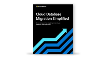 The e-book titled Cloud Database Migration Simplified.