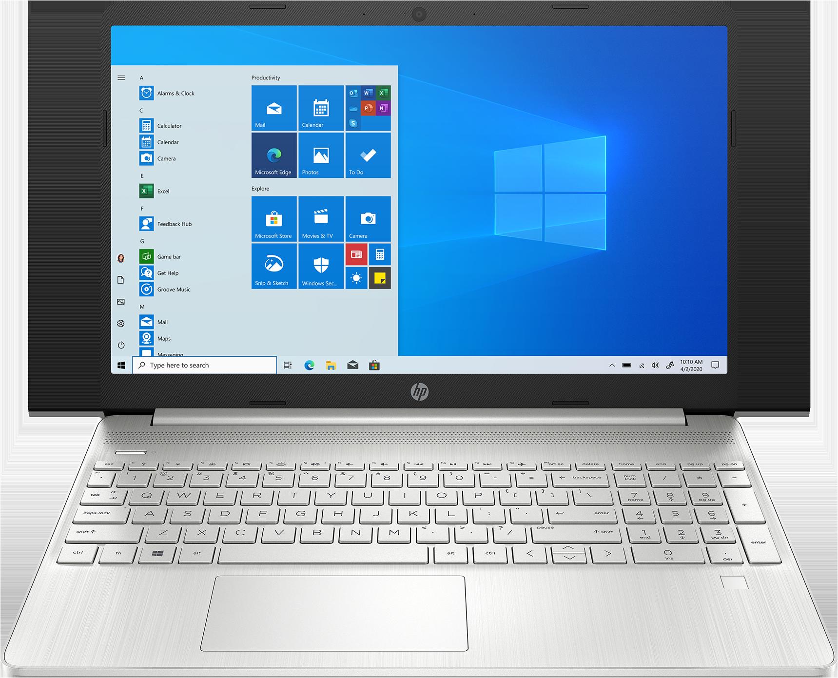 HP Notebook 15s-fq1055tu 15.6 Laptop 15.6 inch Full HD display Intel Core i7-1065G7 8 GB memory/256 GB SSD Intel Iris Plus Graphics