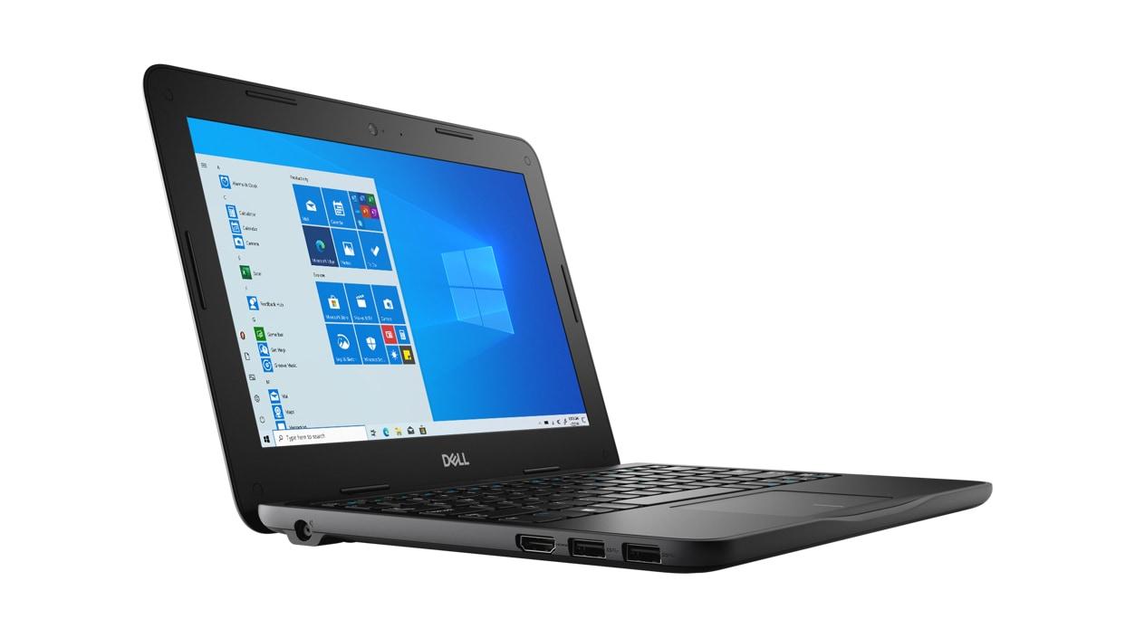 Left front view of Dell Latitude 3190 Celeron N4120 Laptop