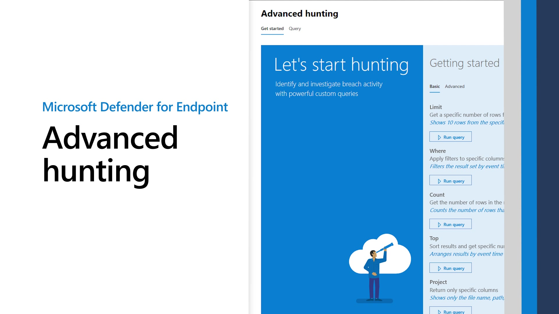 Overview Of Advanced Hunting In Microsoft Defender For Endpoint Microsoft Docs