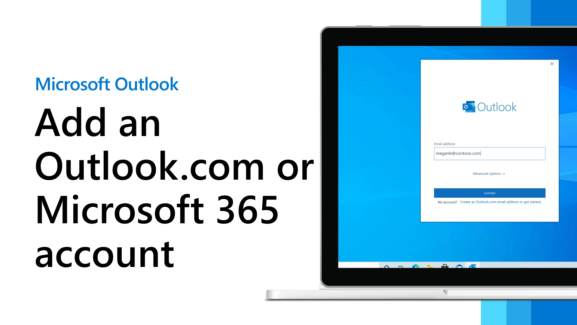Add an Outlook.com or Office 10 account