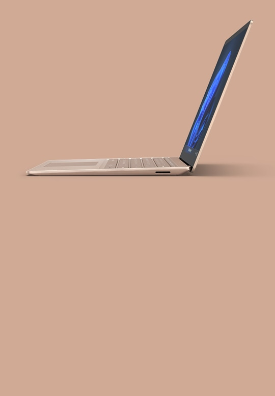 Surface Laptop 4 13.5-inch shown in Sandstone metal