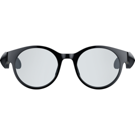 Vue avant des Razer Anzu Smart Glasses Round Design.