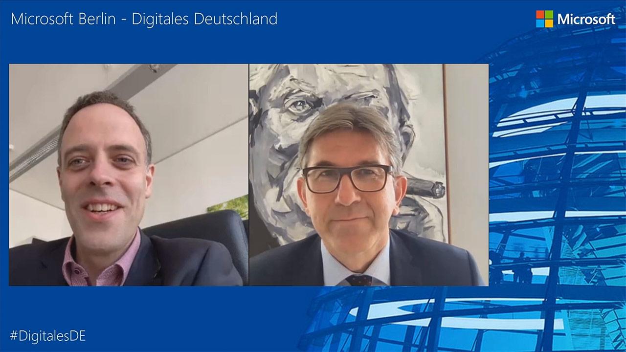 Thumbnail zu Digitales Deutschland mit Staatssekretär Dr. Markus Richter