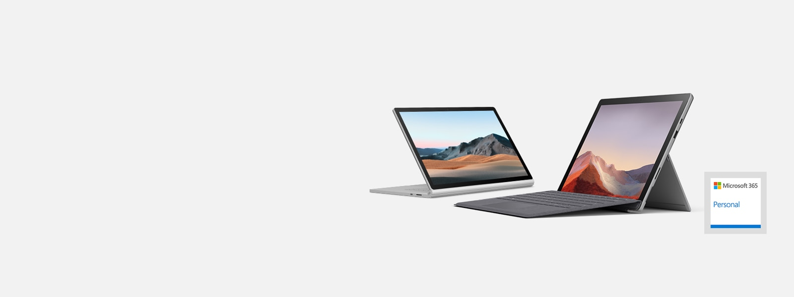 Surface Pro 7 y Surface Book 3
