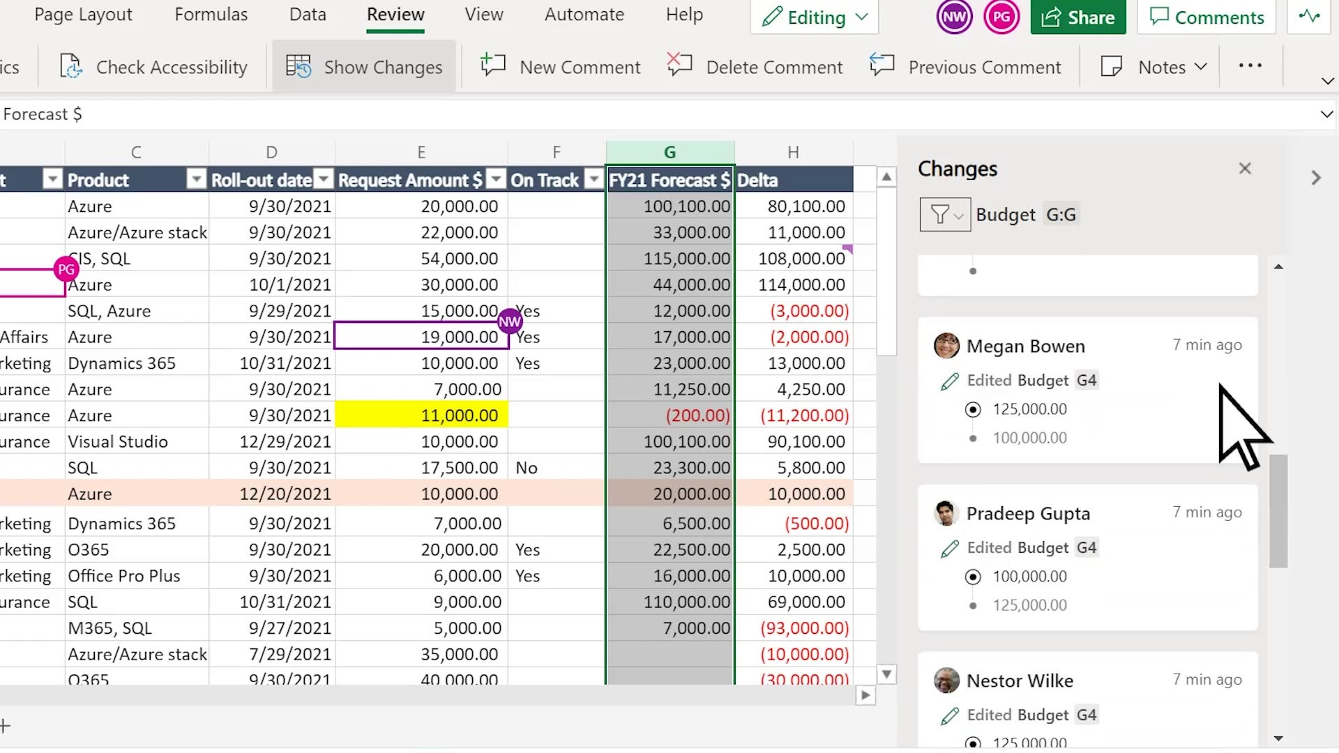 Collaborate with confidence Introducing Show Changes for Excel on ...