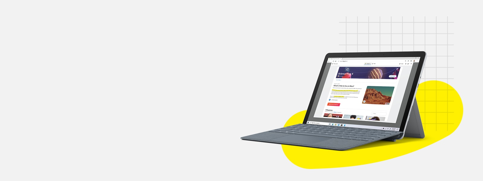 Surface go 2 y type cover