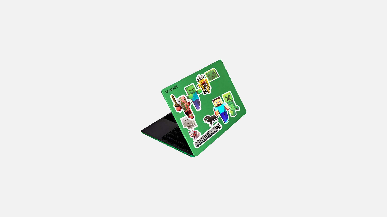 Leader Companion 402 Minecraft Edition 14 Gaming Laptop 14-in HD display Intel Celeron J4104 processor 4 GB memory/64 GB eMMC Intel HD Graphics