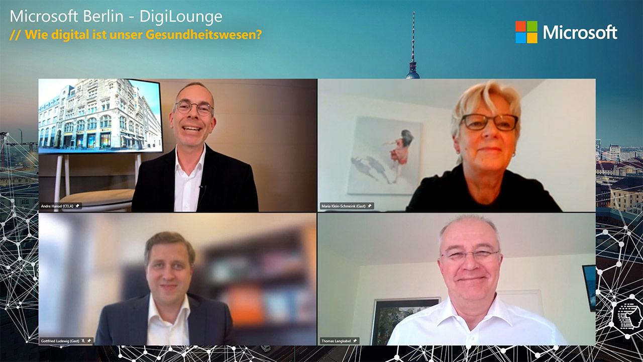Thumbnail zu DigiLounge // Wie digital ist unser Gesundheitswesen?