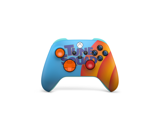 Front of the Xbox Wireless Controller – Space Jam: A New Legacy Tune Squad Exclusive