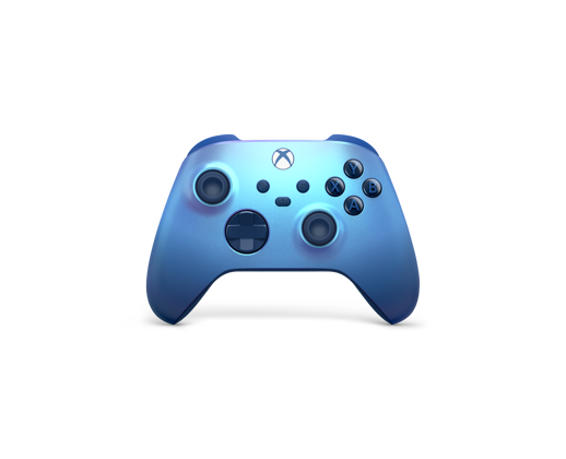 Front of the Xbox Wireless Controller – Aqua Shift Special Edition
