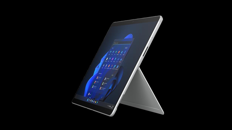 Surface Pro X 採用整合式支架模式