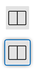 Icon showing two screens