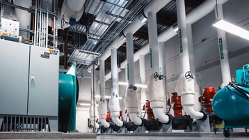 An energy-efficient industrial plumbing system.