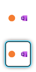 Headspace and OneNote logos.