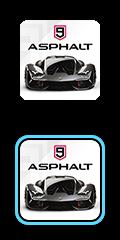 Asphalt 9 logo.