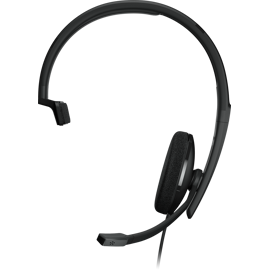 Front view of the Sennheiser EPOS ADAPT 130 T Headset.