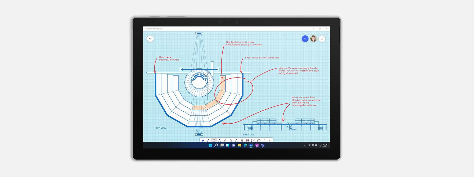 Use the SurfacePro 7+ in Tablet Mode