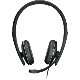 Front view of the Sennheiser EPOS ADAPT 165 T Headset.