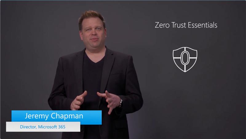 Jeremy Chapman, Director at Microsoft 365.
