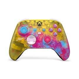 Vista frontale angolata del controller Wireless per Xbox - Forza Horizon 5 Limited Edition