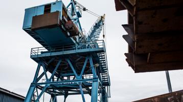 A large crane