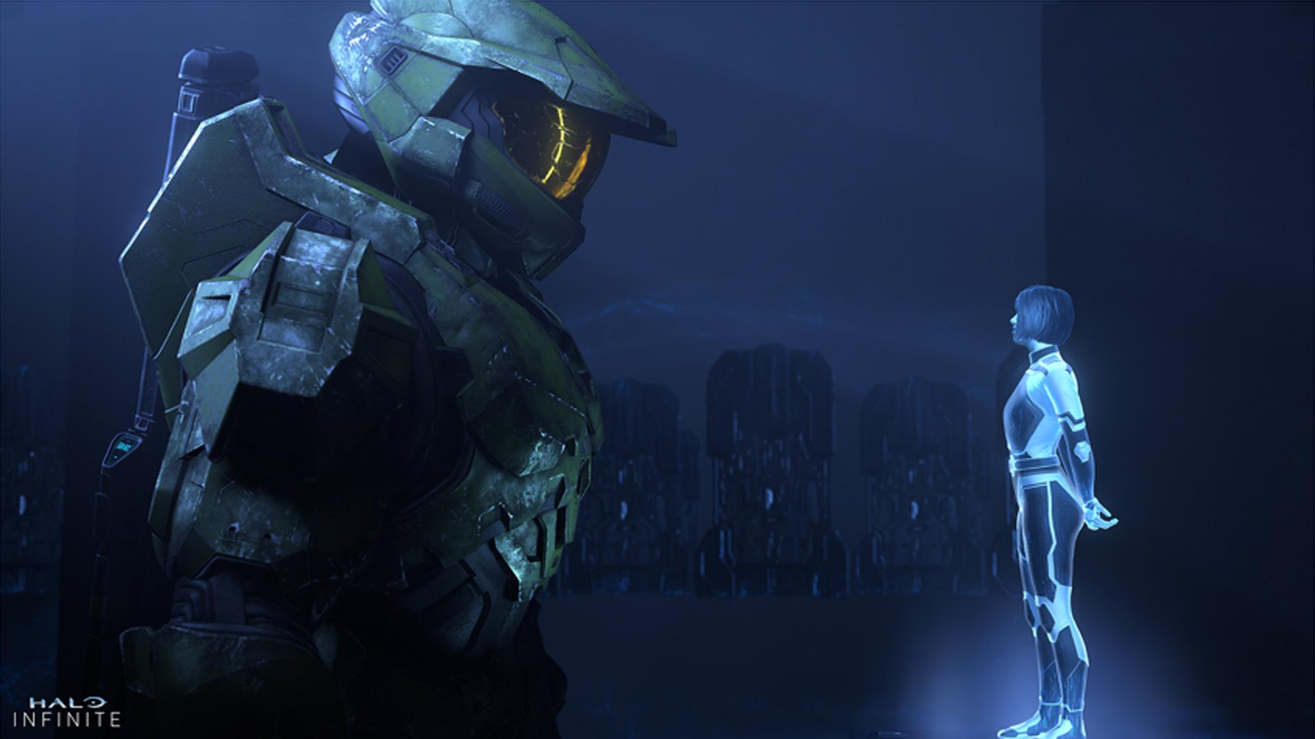 Halo INFINITE video oyunu karakterleri