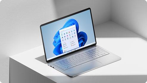 A Windows 11 laptop