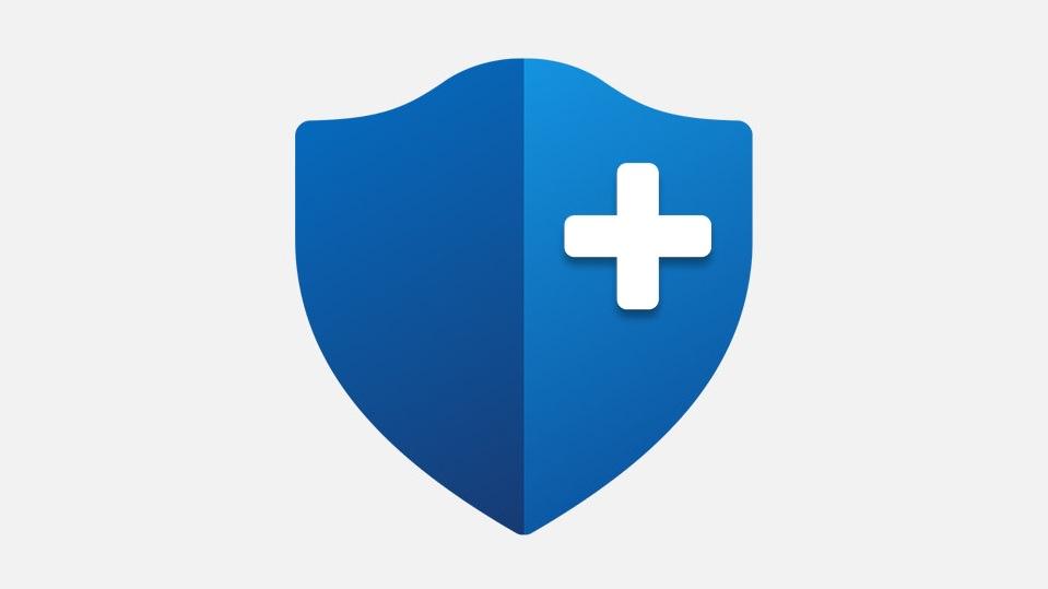 Microsoft Complete Protection Plan badge logo.