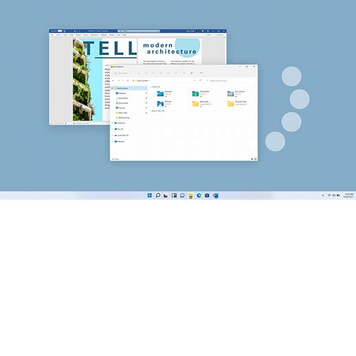 Windows-Bildschirm mit geöffneter Excel-Tabelle