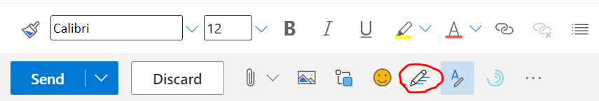 Access to Microsoft Editor Settings