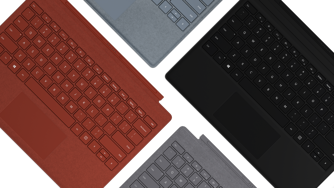 Surface Pro Signature Type Cover i flere farver