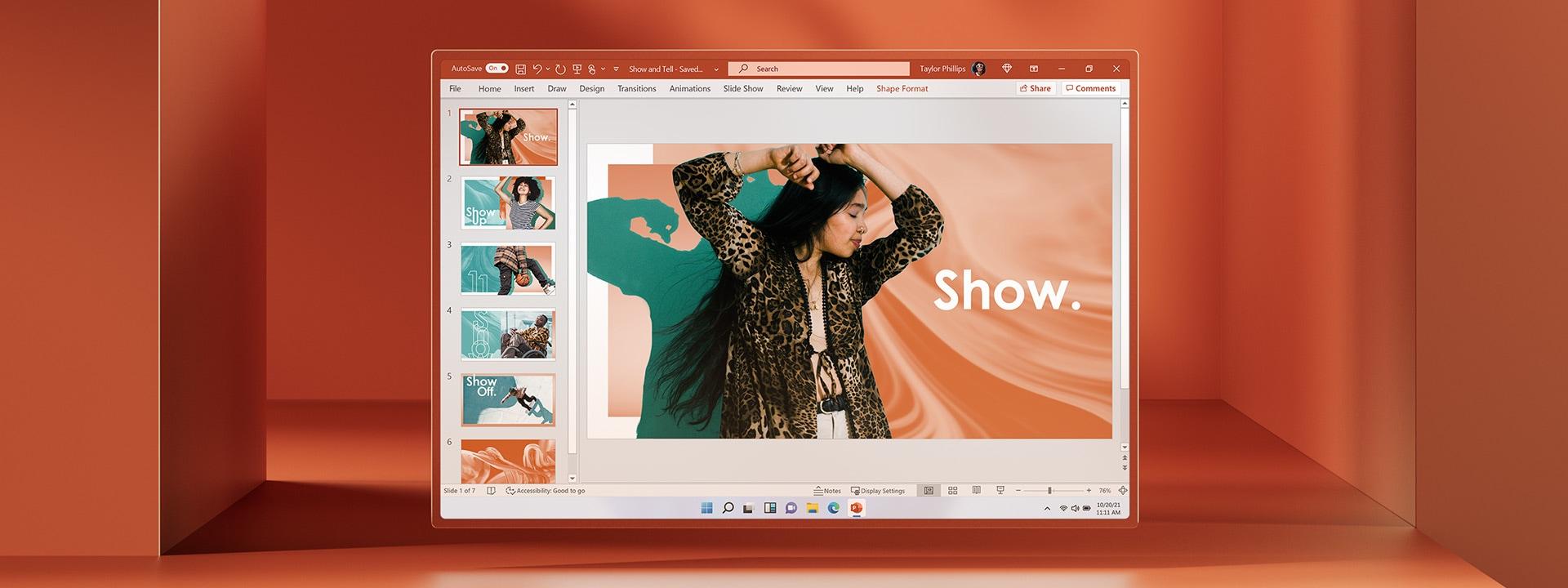 Παρουσίαση του Microsoft PowerPoint