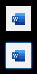Λογότυπο Microsoft Word
