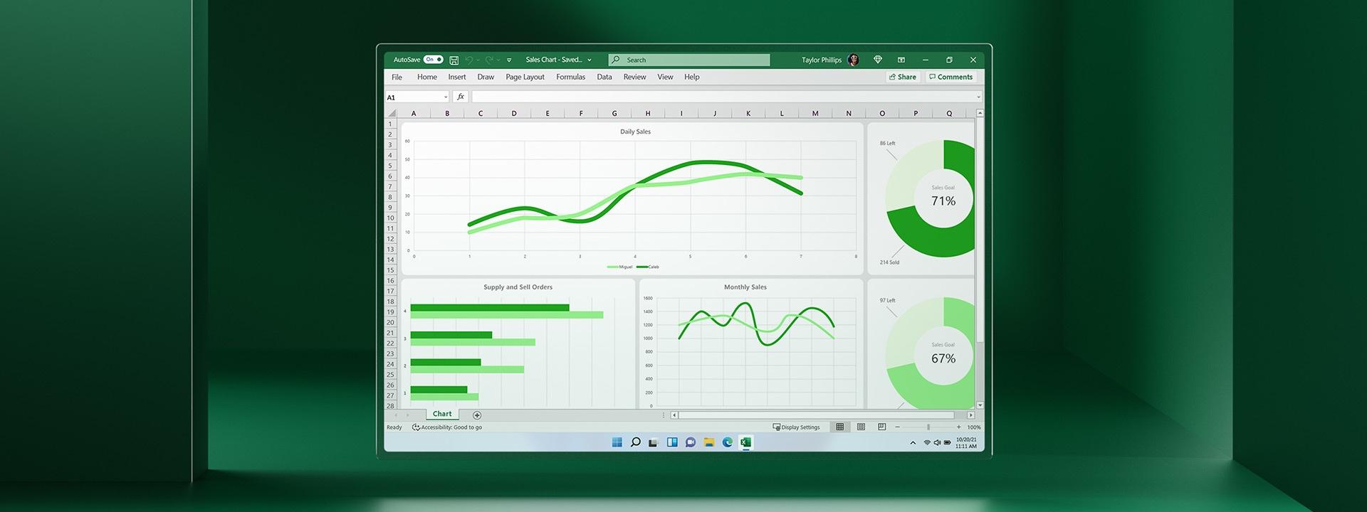 Φύλλο εργασίας του Microsoft Excel