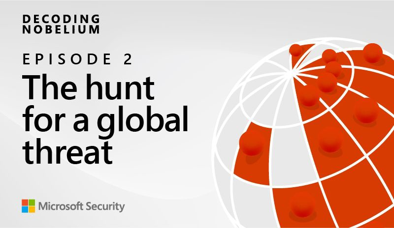 Decoding NOBELIUM Episode 2 The Hunt for a Global Threat.