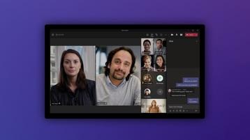 Microsoft Teams su un tablet.