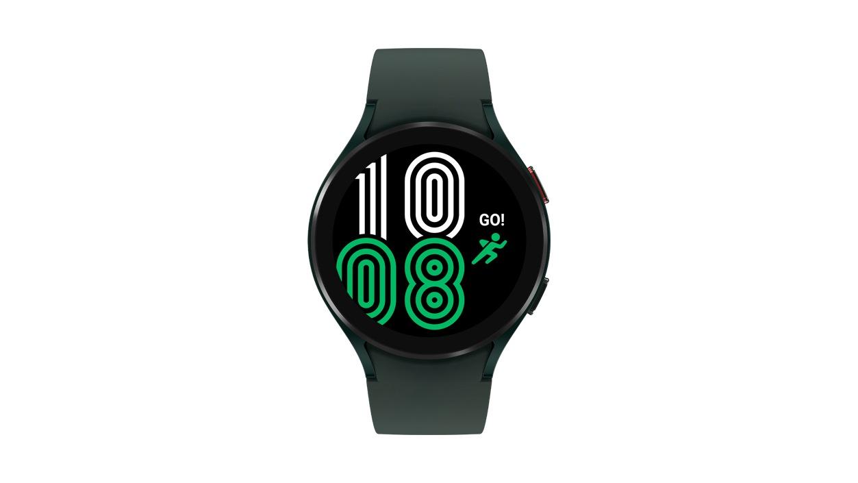 Samsung Galaxy Watch 4 Aluminum B T 44 millimeters Green.