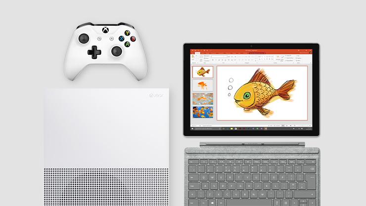 Microsoft Surface et Xbox