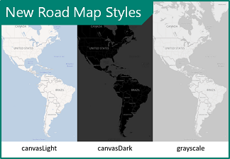 New Road Map Styles image