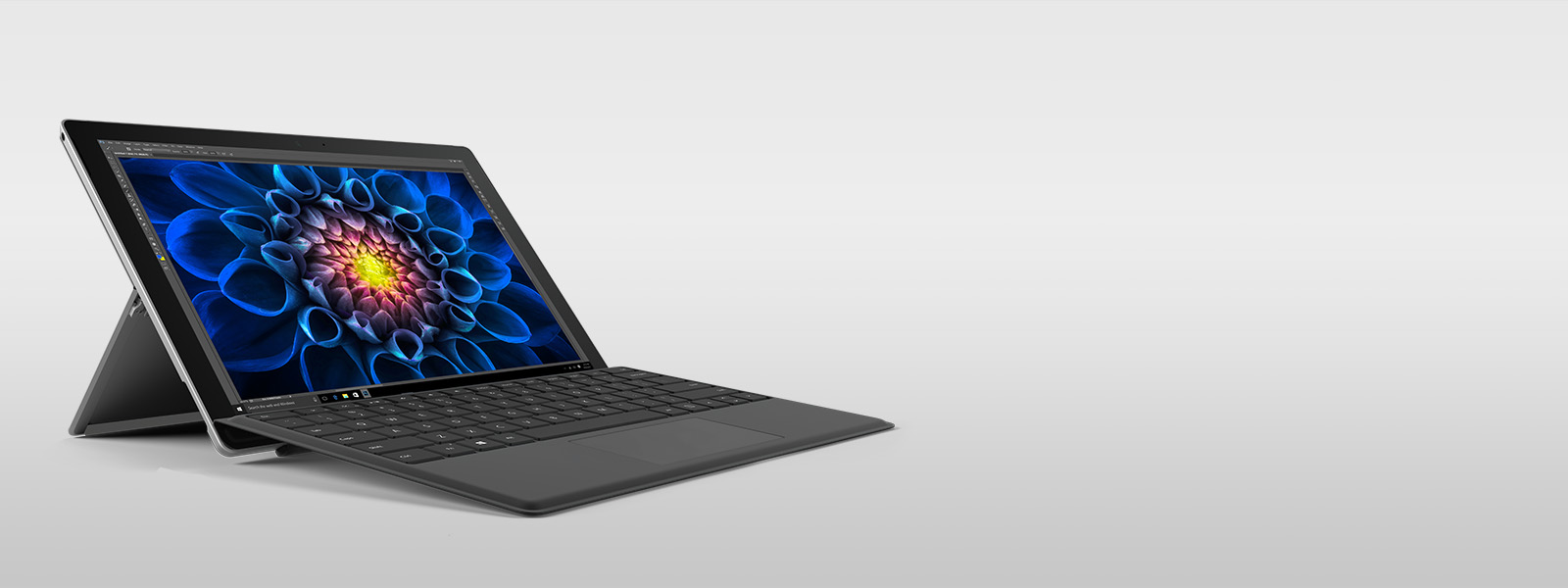 Surface Pro 4 with Black type cover