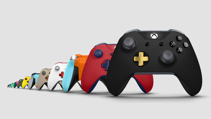 Controllers Xbox Design Lab