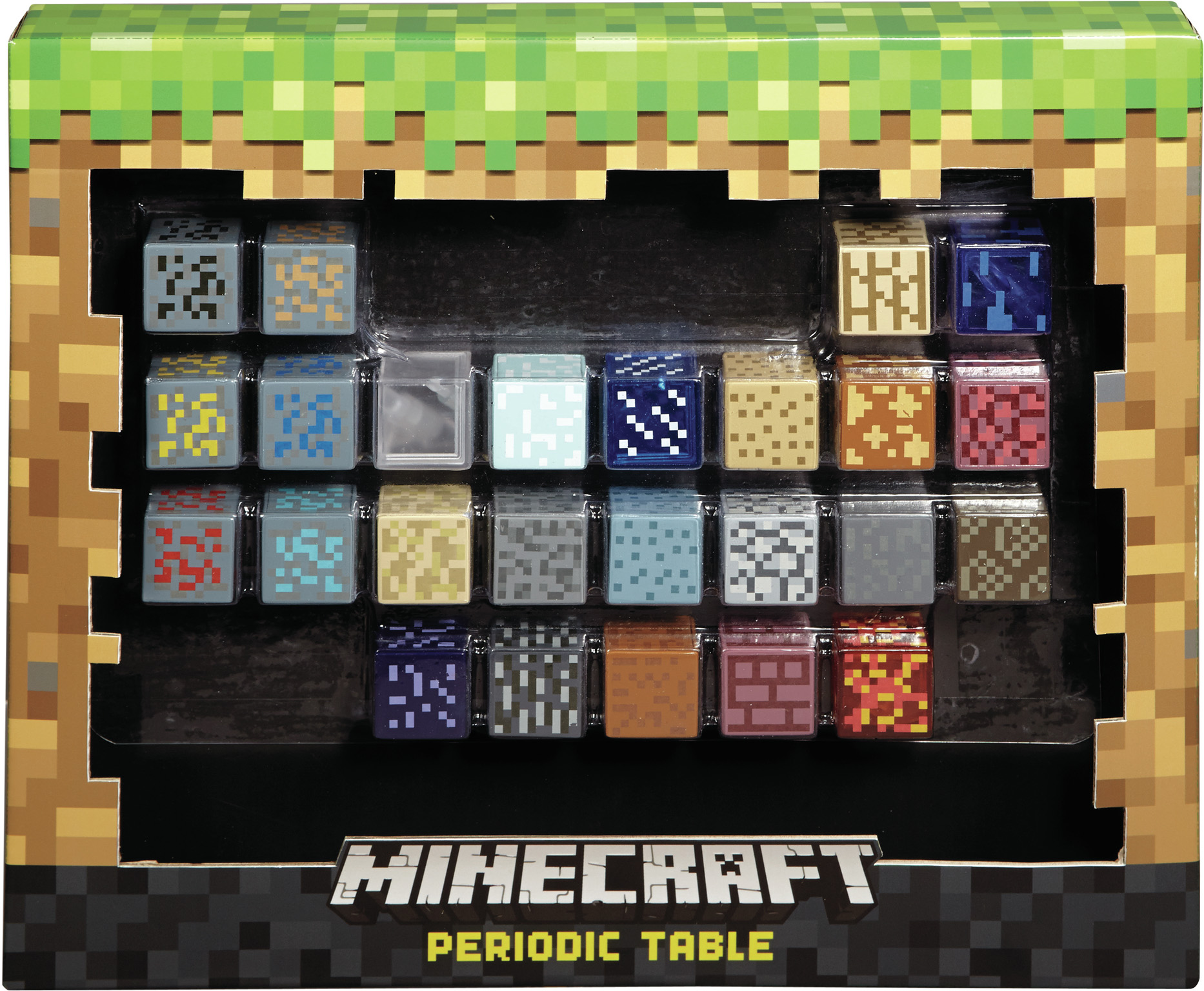 Minecraft Periodic Table QH6-00006