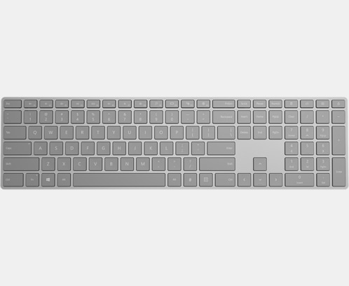 70b55e16aa5 Microsoft Modern Keyboard with Fingerprint ID