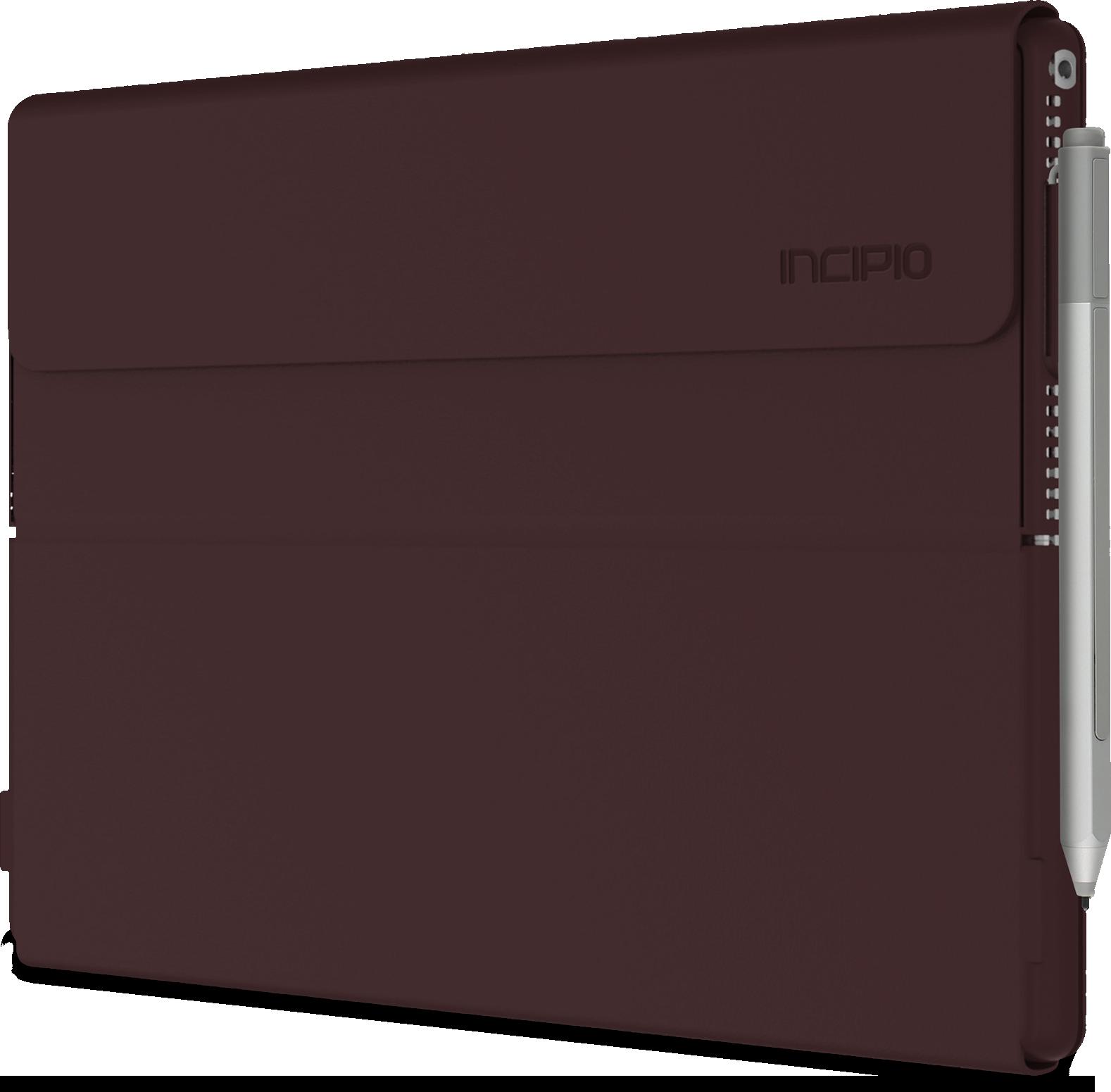 Dopasowane etui Incipio Faraday na tablet Surface Pro (burgund)